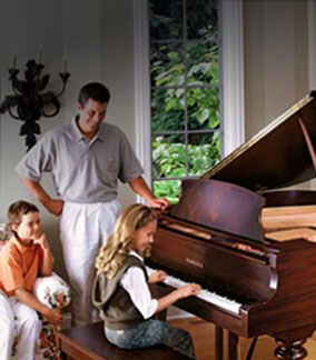 Browse all new pianos